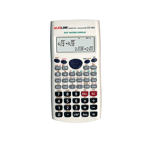 CALCULATOR CD-991 WHITE