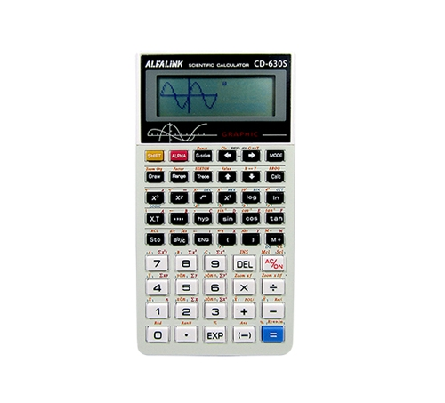 CALCULATOR CD-630S WHITE