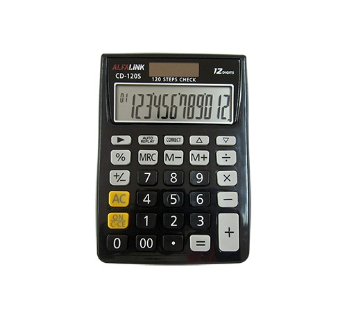 ALFA LINK CALCULATOR CD 120S BLACK