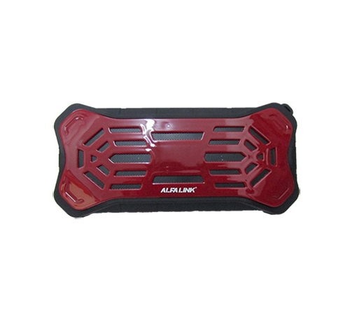 ALFA LINK BLUETOOTH SPEAKER BTS 475 DARK RED PLUS