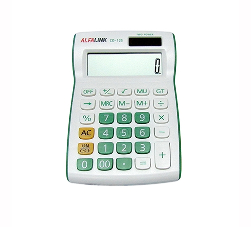 CALCULATOR CD-12S GREEN