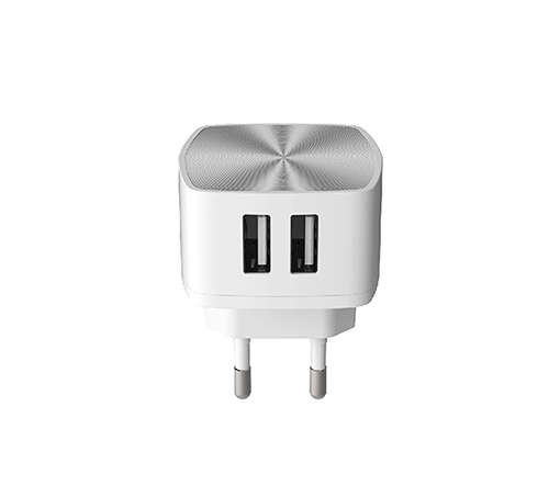 ALFALINK ACS4  2 USB CHARGER FAST CHARGING WHITE