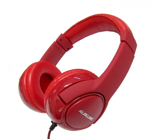 ALFA LINK NON BLUETOOTH HEADSET NBH 230 RED