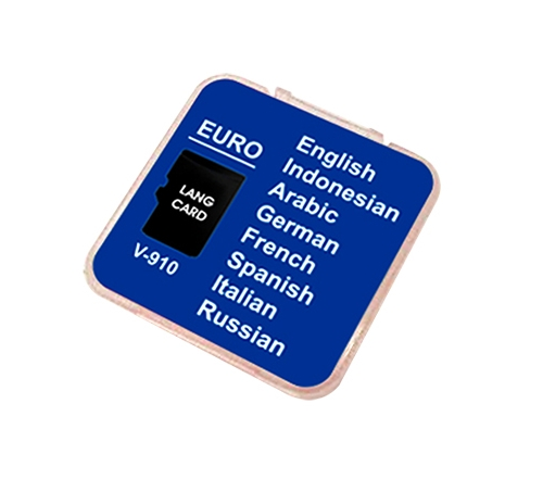 EURO LANGCARD (LANGUAGE LEARNING CARD)