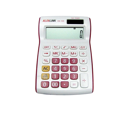 CALCULATOR CD-12S RED