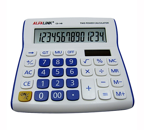CALCULATOR CD-14B VIOLET