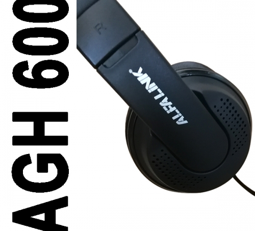 ALFA LINK GAMING HEADSET AGH 600 BLACK