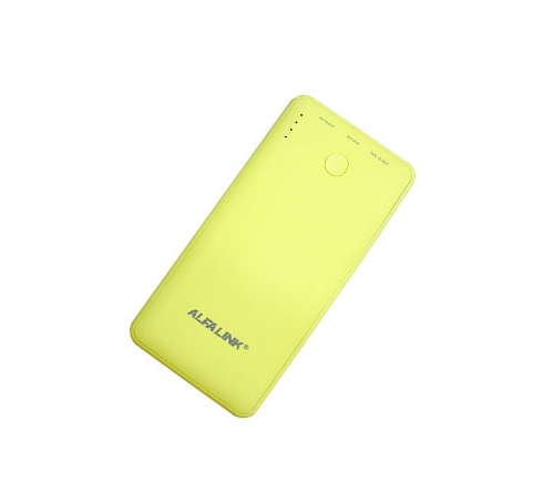 POWER BANK 6000 R LEMON YELLOW