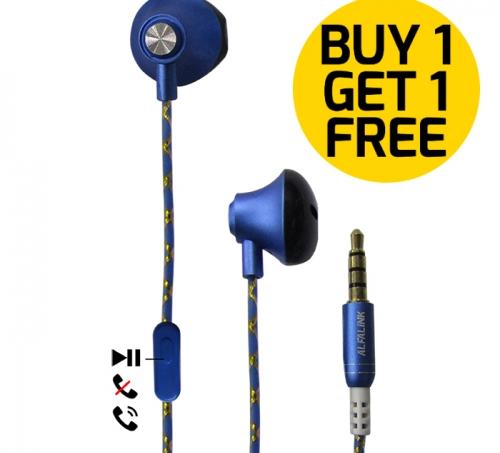 ALFA LINK EARPHONE AEP 31 BLUE