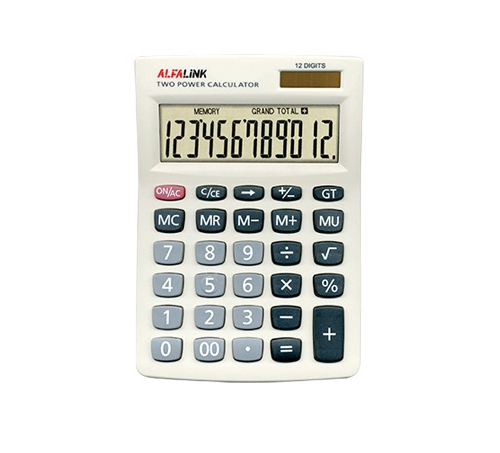 CALCULATOR CD-12 WHITE