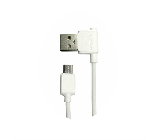 ANGLE CABLE MICRO 20 CM WHITE