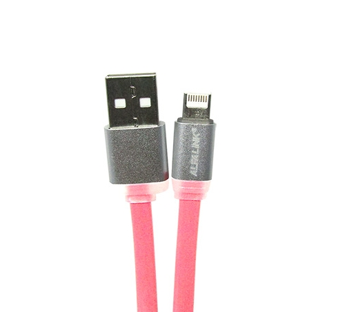 KABEL IDROID ( USB DATA CABLE ) PINK