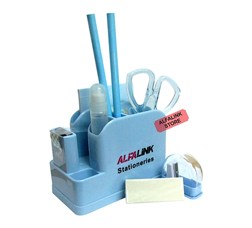 ALFA LINK STATIONARY SET BLUE