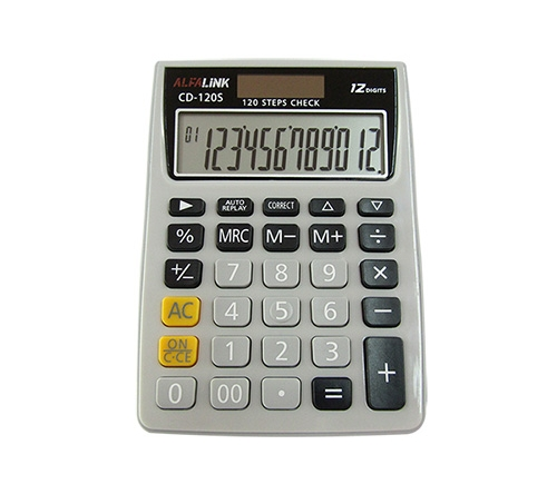 ALFA LINK CALCULATOR CD 120S GREY